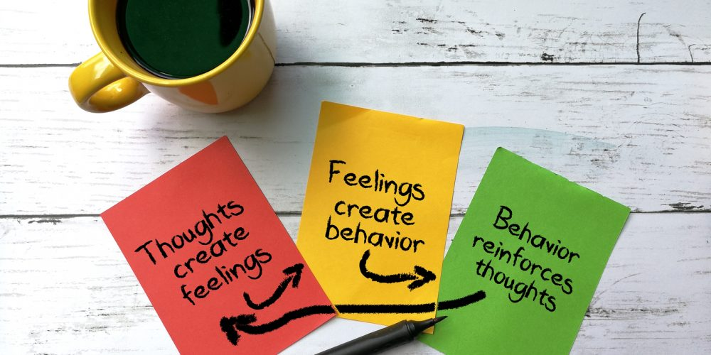 Cognitive Behavior Therapy concept